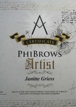 Phibrows-certificate